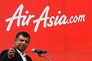 at Airasia fair