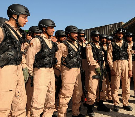 United Arab Emirates soldiers in U.S. Coast Guard training