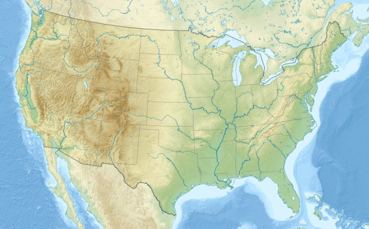 Template Location map   Wikipedia Location map is located in the US