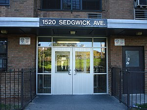 English: 1520 Sedgwick Avenue