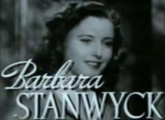 Barbara Stanwyck dans The Gay Sisters en 1942