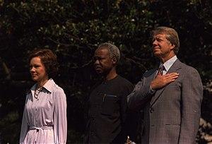 Rosalynn Carter, President Julius Nyerere of T...