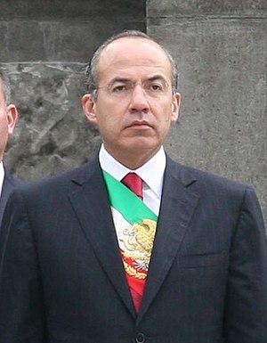 Felipe Calderón Hinojosa, Presidente de México.