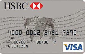 Español: Tarjeta de débito HSBC
