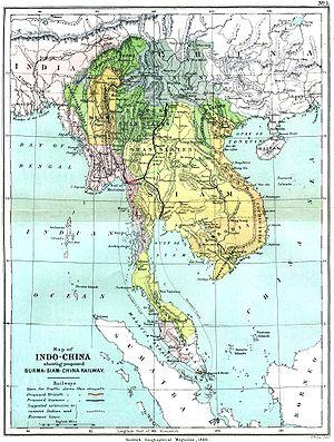 Indochine en 1886