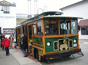 Free MST Trolley servicing Monterey, Cannery R...