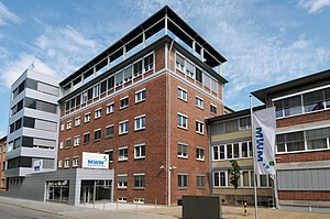 English: MWM GmbH headquarters in Mannheim, Ge...