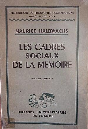 Couverture du livre de Maurice Halbwachs, Les ...