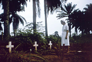 Nurse-nun visits graves of victims of 1976 Zai...