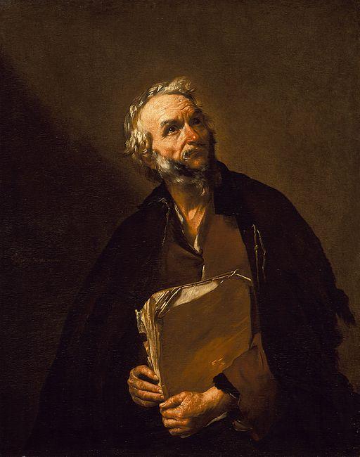 """Plato"" by Jusepe de Ribera"