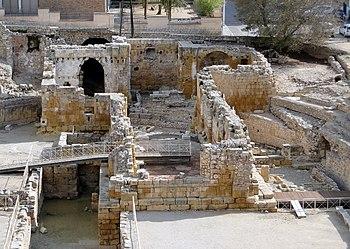 English: Ruins of Santa Maria del Miracle Chur...