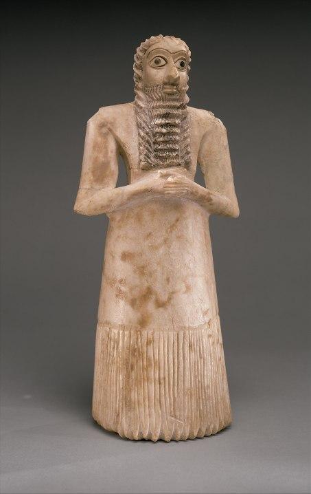 Sumerian Standing Male Worshiper