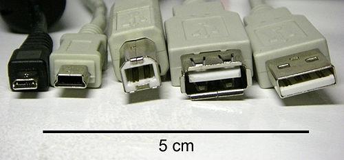 Micro /mini / USB-B / USB-A male / USB-A female