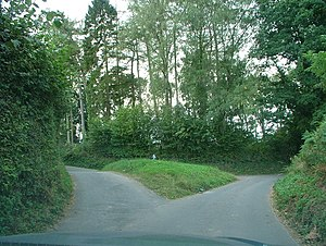 English: A fork in the road Which way should i go?