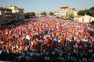 Miting of AKP