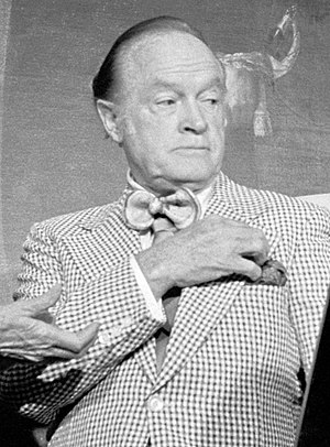 Bob Hope gets plaque on Hill.