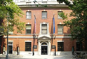 The Center for Jewish History is located on 15...