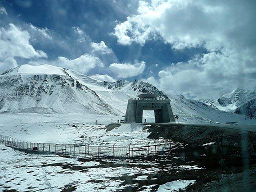 PAK-CHINA BORDER Khunjerab pass