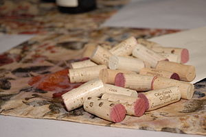English: Corks at the Public tasting event of ...