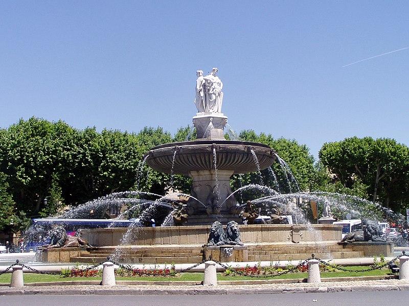 File:Fontaine de la Rotonde - Aix-en-Provence.JPG