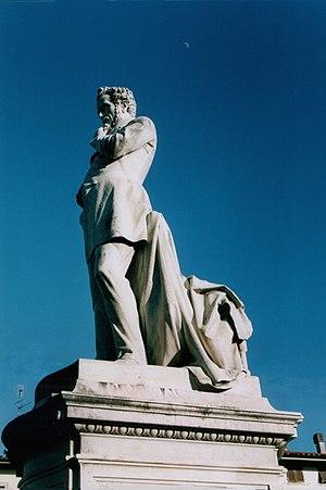 Monumento a Giuseppe Giusti, nella piazza di M...