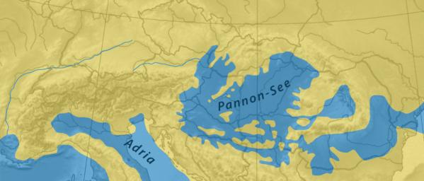 Pannon-See vor 11 Mio Jahren