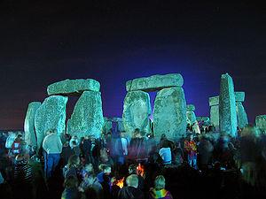 A community of interest gathers at Stonehenge,...