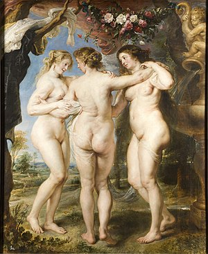The Three Graces, by Peter Paul Rubens