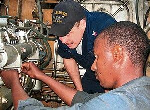 US Navy 071116-N-0000X-001 Machinist's Mate 2n...