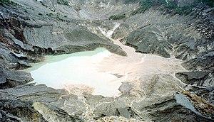 Nederlands: Vulkaan Tangkuban Perahu - Java - ...