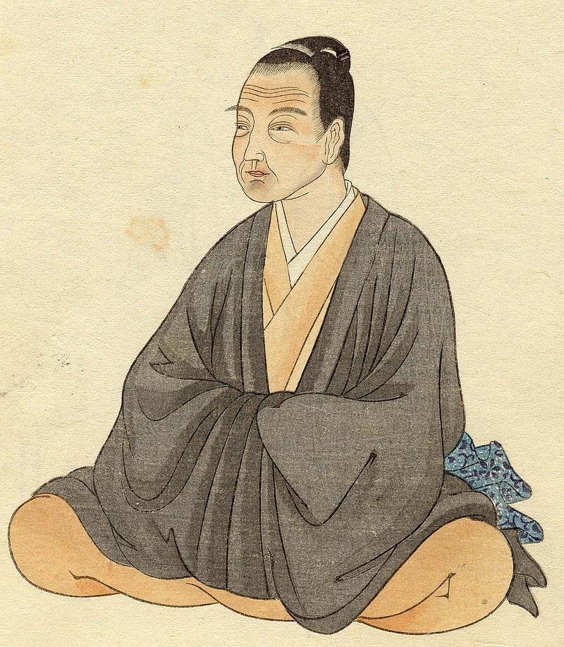 Illustrazione di un maestro Zen