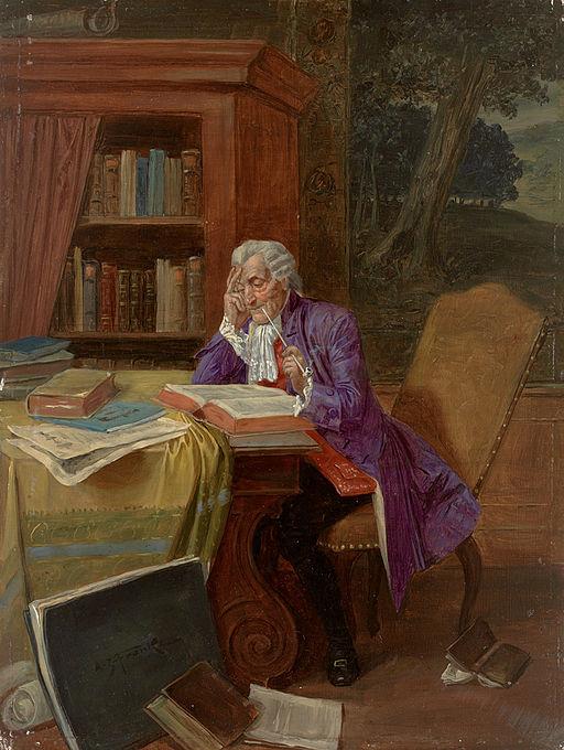 Albert Joseph Franke Aufmerksame Lektüre