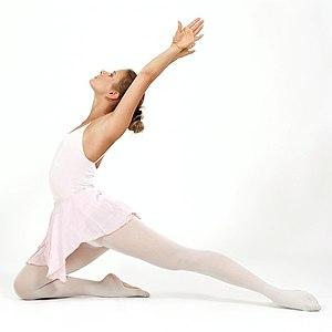 Classic ballet-dancer Español: Bailarina de da...
