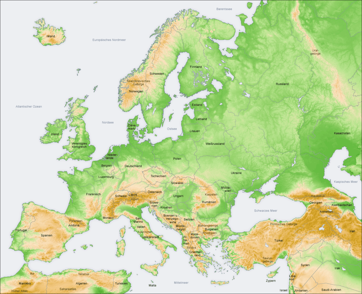 Geographie Europas Wikipedia