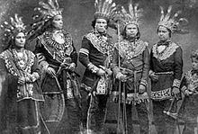 Animism   Wikipedia Five Ojibwe chiefs in the 19th century  it was anthropological studies of  Ojibwe religion that resulted in the development of the  new animism