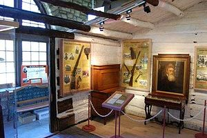 English: John Brown Museum in Osawatomie, Kansas