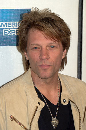 English: Jon Bon Jovi at the 2009 Tribeca Film...