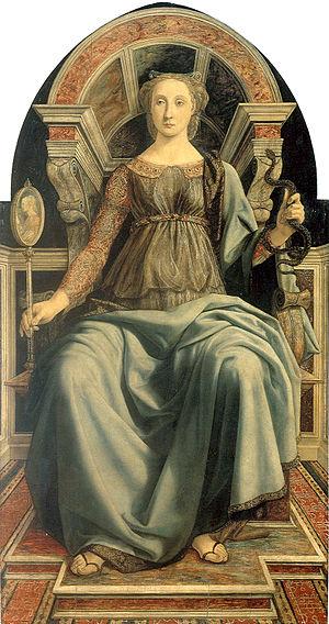 Piero del Pollaiolo prudence