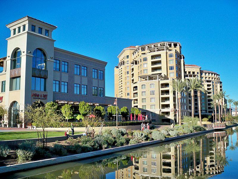 Downtown Scottsdale Arizona Waterfront