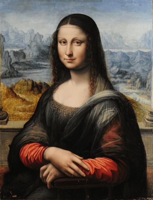 The Joconde by a student of Leonardo da Vinci