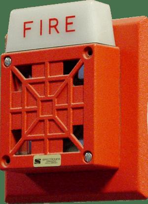 Fire alarm notification appliance