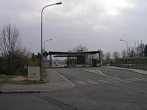 Bordercrossing D-PL Zittau Chopinstrasse-Sieniawka