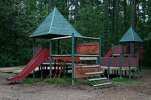 A playground for younger kids at Indian Trail ...