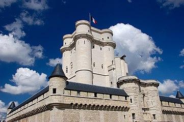 Château de Vincennes tour des lacs du bois de Vincennes