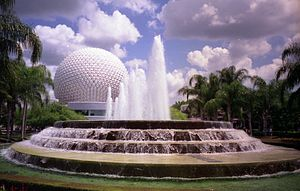 English: Spaceship Earth in Walt Disney World ...