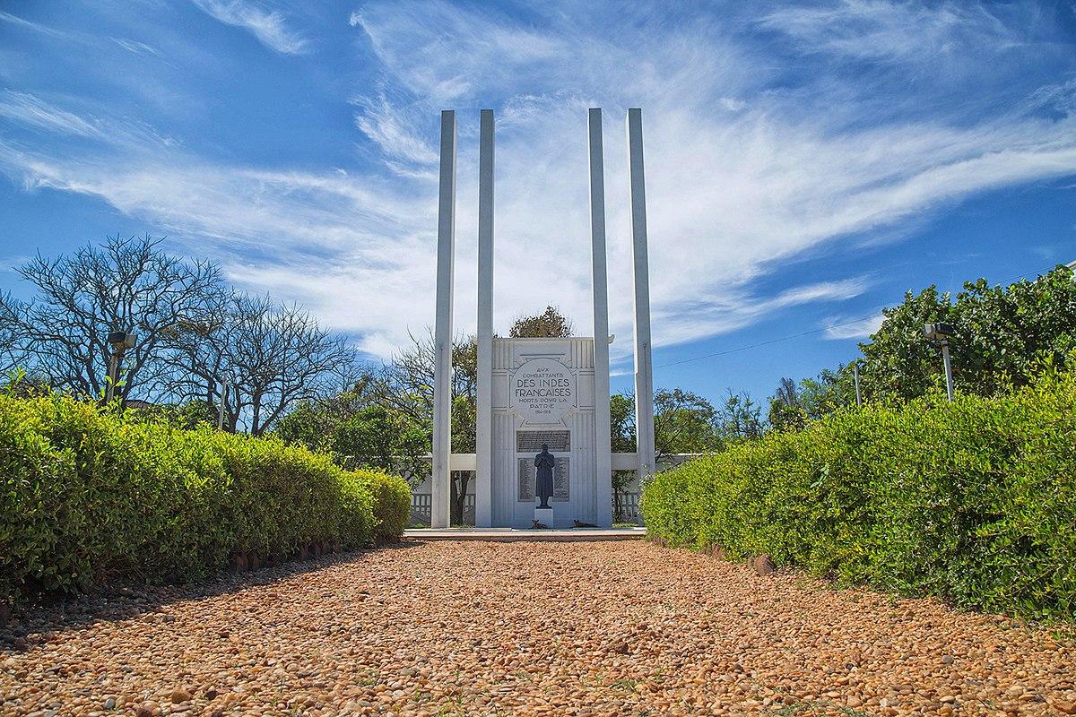 Monument Aux Combattants Des Indes Françaises Morts Pour