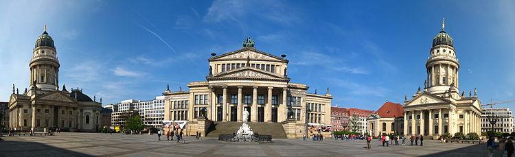 Gendarmenmarkt - Wikipedia, la enciclopedia libre
