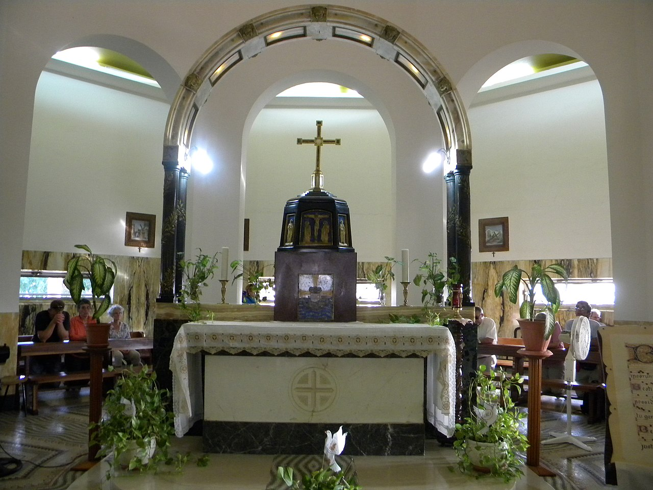 File Israel Mount Of Beatitudes Roman Catholic Chapel