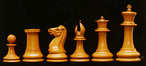 An example of early-style Staunton Chess Set