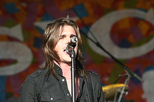 Juanes performing at New Orleans Jazz Festival.